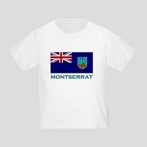 Montserrat Flag Stuff Toddler T-Shirt