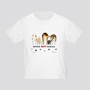 Dog Breed Rescues Toddler T-Shirt
