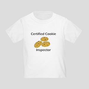 Certified Cookie Inspector Toddler T-Shirt