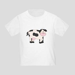 Holstein Milk Cow Toddler T-Shirt