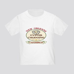 Oyster Eating Champion Toddler T-Shirt