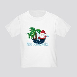 Mele Kalikimaka Toddler T-Shirt