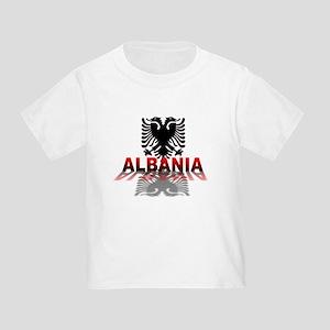 3D Albania Toddler T-Shirt