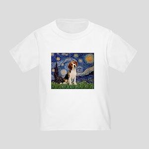 Starry Night / Beagle Toddler T-Shirt