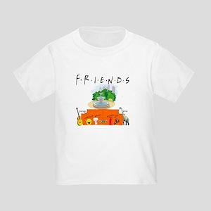 Friends TV Show Symbol Collage T-Shirt