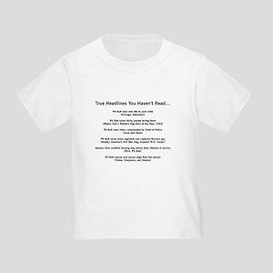 Hero Headlines Toddler T-Shirt