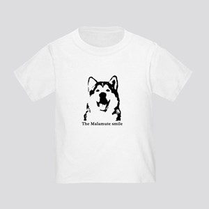 The Malamute Smile Toddler T-Shirt