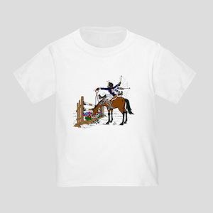 Hunter at Flower Box Jump Toddler T-Shirt