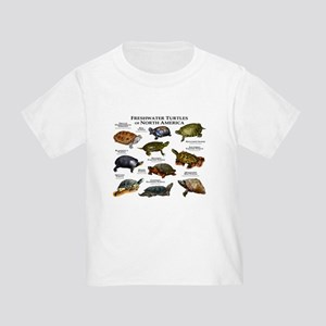 Freshwater Turtle of North America T-Shirt