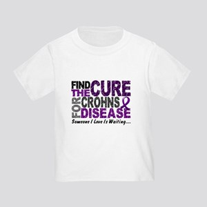 Find The Cure 1 CROHNS Toddler T-Shirt