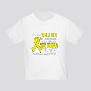 Sarcoma MeansWorldToMe2 T-Shirt
