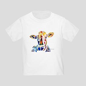 Whimzical Original Cow Art Toddler T-Shirt