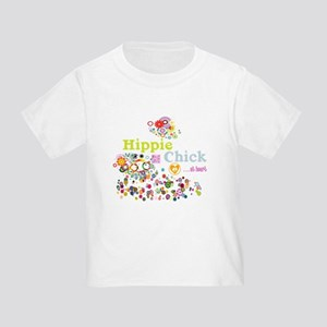 Hippie Chick at Heart Toddler T-Shirt