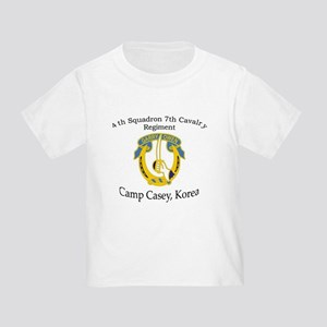 4th Squadron 7th Cavalry Toddler T-Shirt