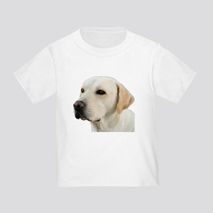 Yellow Lab Head Toddler T-Shirt