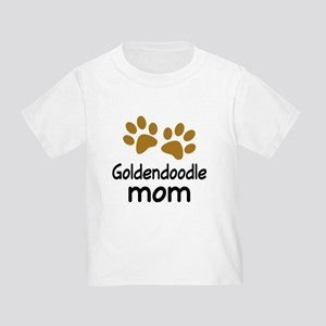 Cute Goldendoodle Mom Toddler T-Shirt