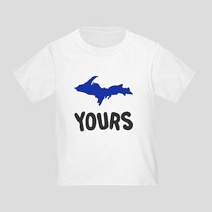 UP Upper Peninsula Michigan Toddler T-Shirt