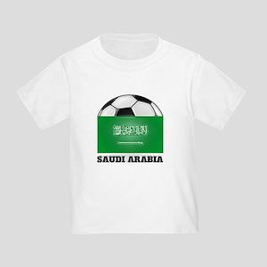 Saudi Arabia Soccer Toddler T-Shirt