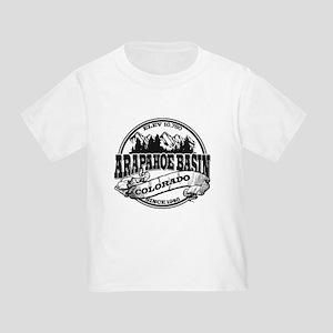 A-Basin Old Circle Black Toddler T-Shirt