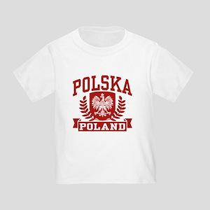 Polska Poland Toddler T-Shirt