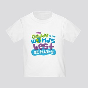 Actuary Gifts For Kids Toddler T-Shirt