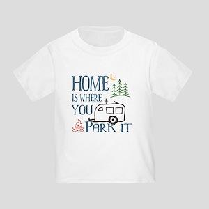 Camper Home Toddler T-Shirt