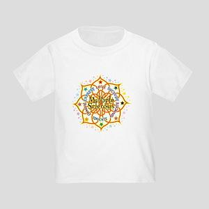 Multiple Sclerosis Lotus Toddler T-Shirt
