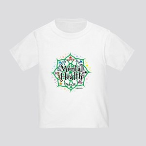 Mental Health Lotus Toddler T-Shirt