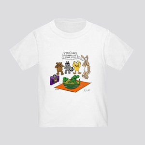 Tortoise and the Hare Revisited Toddler T-Shirt