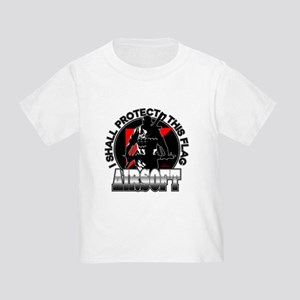 Protect Flag Airsoft Toddler T-Shirt