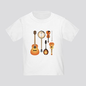 String Instruments Toddler T-Shirt