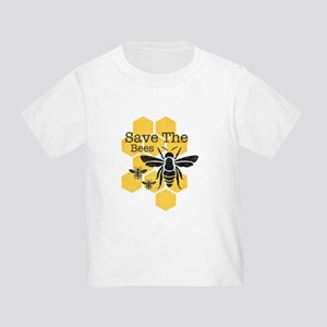 Honeycomb Save The Bees Toddler T-Shirt