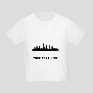 Cleveland Cityscape Skyline (Custom) T-Shirt