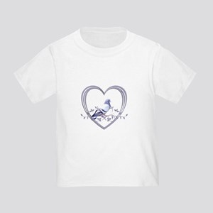 Pigeon in Heart Toddler T-Shirt