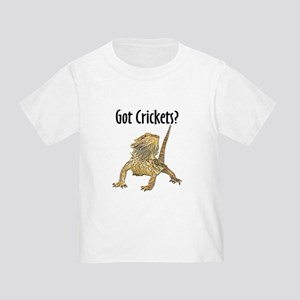 Bearded Dragon Got Crickets Toddler T-Shirt