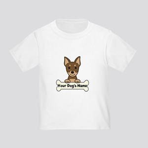 Personalized Min Pin Toddler T-Shirt