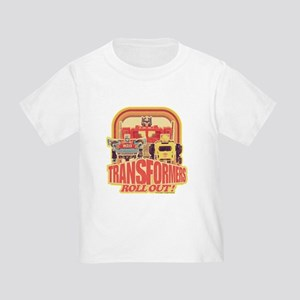 Transformers Retro Roll Out Toddler T-Shirt
