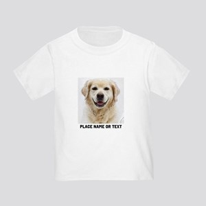 Dog Photo Customized Toddler T-Shirt
