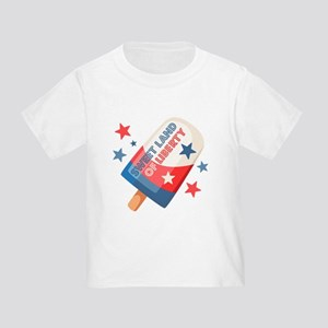 Ice Cream Pop 4th Toddler T-Shirt