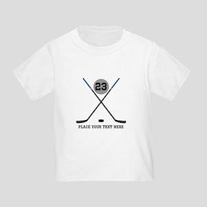 Ice Hockey Personalized Toddler T-Shirt