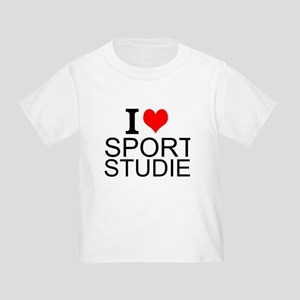 I Love Sports Studies T-Shirt