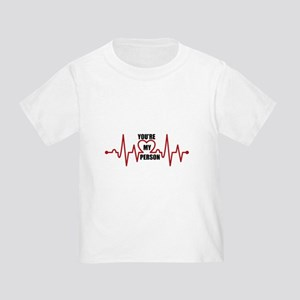 Grey's Anatomy My Person Toddler T-Shirt