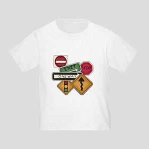 Road Signs Toddler T-Shirt