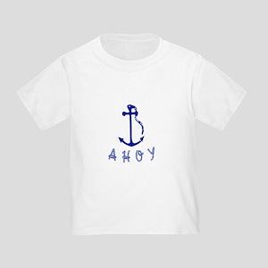Ahoy Toddler T-Shirt