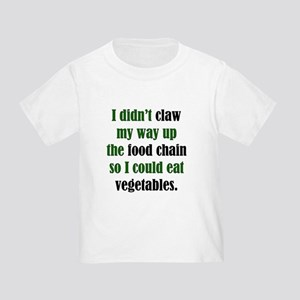 Vegetable Claw Toddler T-Shirt