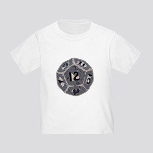 12 Sided Die Toddler T-Shirt