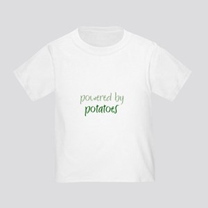 Powered By potatoes Toddler T-Shirt