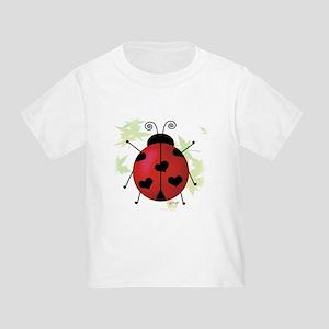 Heart Ladybug Toddler T-Shirt