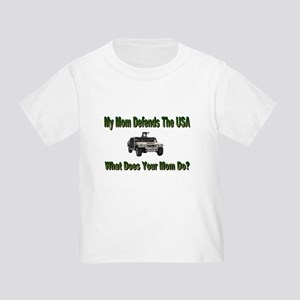 Military Hummer-Mommy Toddler T-Shirt