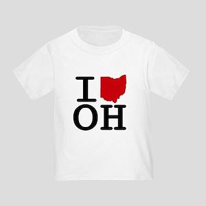 I Heart Ohio Toddler T-Shirt
